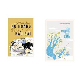 Combo 2 cuốn sách: Muốn làm nữ hoàng, đừng yêu như hầu gái + Tuần Trăng Mật Màu Xanh