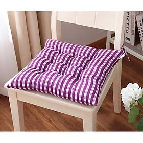 Đệm ngồi bệt, gối lót ghế vuông Caro SBK020 size 40cm