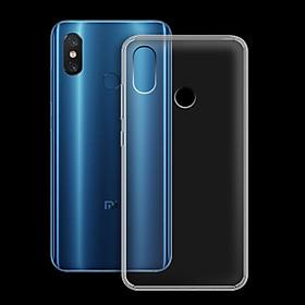 Ốp lưng cho Xiaomi Mi 8 - 01133 - Ốp dẻo trong - Hàng Chính Hãng