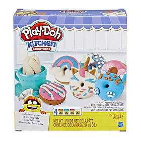 Đồ Chơi Đất Nặn Bánh Donut Sắc Màu - Play-Doh E3344