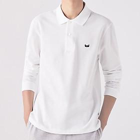 Áo Polo nam dài tay cổ bẻ mặc thu đông, chất cotton Cá Sấu 100%VNXK giữ nhiệt, Logo Thêu Sắc Nét , dáng ôm cực đẹp
