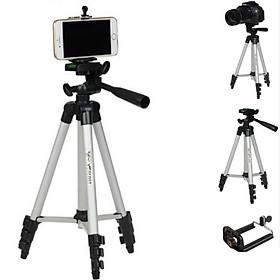 Giá đỡ 3 chân Selfie Tripod 3110 Cho điện thoại và máy ảnh tặng kèm túi vải cá tính