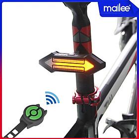 Xi Nhan Xe Đạp Rẽ Kết Hợp Đèn Đuôi Led Cảnh Báo Nhiều Chế Độ + Remote Điều Khiển Không Dây ML05 MaiLee
