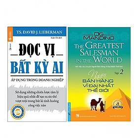 Combo  Người Bán Hàng Vĩ Đại Nhất Thế Giới (Tập 2) +  Đọc Vị Bất Kỳ Ai - Áp Dụng Trong Doanh Nghiệp