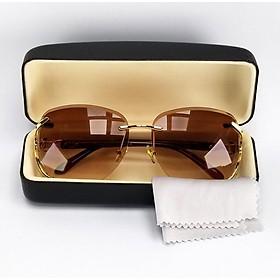 Mắt kính râm nữ thời trang chống nắng DKYTR1886. Tròng Polarized phân cực chống tia UV, gọng Polycarbonate