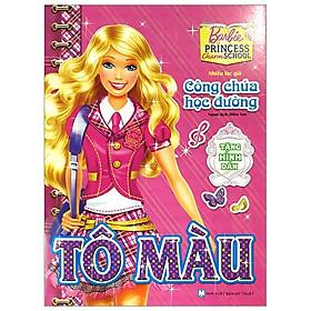 Tô Màu Theo Truyện Kể - Barbie Công Chúa Học Đường