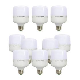 10 Bóng đèn Led trụ 18w 20w tiết kiệm điện sáng trắng-vàng nắng Posson LC-N18-18G