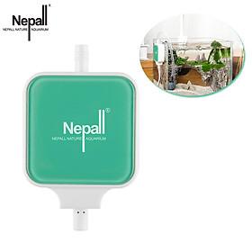 Máy nén khí Nepall Aquarium Oxy Airpump Máy nén khí 1.5W Tiêu thụ điện năng thấp Máy bơm không khí mini có độ ồn cực thấp Máy bơm bể cá