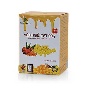 3 Hộp viên tinh bột nghệ mật ong Thảo mộc 37 - hộp 500 gram