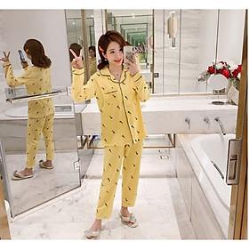 [Momcare] Bộ đồ bầu, bộ đồ sau sinh cho con bú_Pijama carot