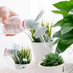 Đầu vòi tưới nước 2 chức năng, vòi hoa sen đa chức năng, có thể nắp vào chai nước tiện dụng (SP Không Bao Gồm Chai Nhựa)