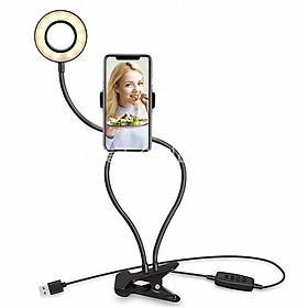 Đế kẹp điện thoại có đèn Led Likestream Facebook