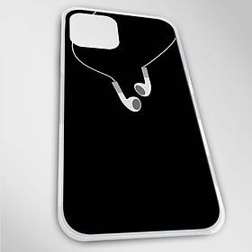 Ốp lưng dành cho iPhone 12, 12 Pro, 12 Pro Max, Mini mẫu Tai nghe