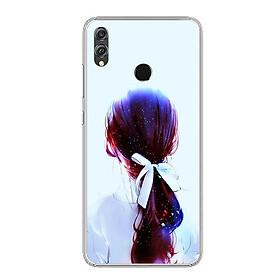 Ốp lưng dẻo cho điện thoại Huawei Honor 8X - 0416 GIRL10 - Hàng Chính Hãng