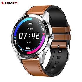 LEMFO G20 BT Call Smart Watch 1.3-inch HD Round Screen BT 4.0 Message Push Music Player Heart Rate/Blood Pressure/Sleep