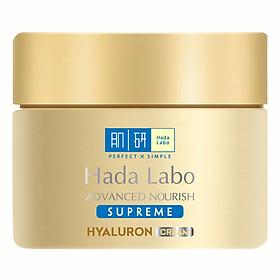 Kem Dưỡng Ẩm Toàn Diện Hada Labo Advanced Nourish Supreme Hyaluron Cream RMV-HDLB-AN-S-Cr (50g)