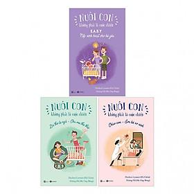 Combo nuôi con không phải cuộc chiến ( Tái bản 2019 ) quyển 1,2,3 ( trọn bộ 3 cuốn ) Tặng kèm 3 bookmark như hình ngẫu nhiên