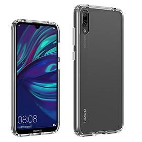 Ốp lưng silicon dẻo trong suốt  siêu mỏng 0.5 mm dành cho Huawei Y7 Pro 2019