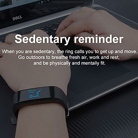 Smart Bracelet Fitness Tracker 0.96in TFT Display Screen Heart Rate Monitor Sleep Monitoring Call Reminder Smart Band Sport Pedome-4