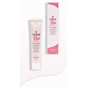 Kem nâng tông dưỡng da trắng hồng rạng rỡ - Natinda Calamine Shiny Pink Tone-Up Cream - 50g