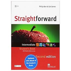 Straightforward Intermediate + ebook SB Pk, 2ed