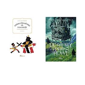 Combo 2 cuốn Chàng cắn hồ đào và Vua Chuột + Lâu đài bay của pháp sư Howl  (Tái bản)