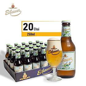 Thùng Bia Trái Cây Thầy Tu Eibauer Summer Mint - Nhập Khẩu Chính Hãng Từ Đức 20 Chai 250ml