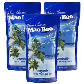 Combo 03 túi Nước Thơm Lau Sàn Mao Bao 1l - Hương Làn Gió Biển