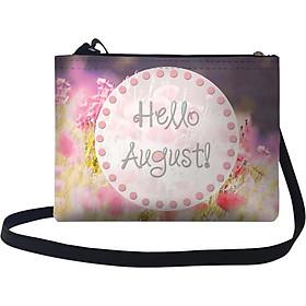 Túi Đeo Chéo Nữ In Hình Hello August! - TUTE041