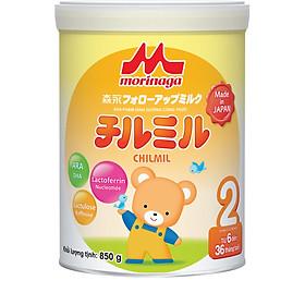Combo Sữa Morinaga Số 2 Chilmil (850g) nguyên đai và đồ chơi Toys House
