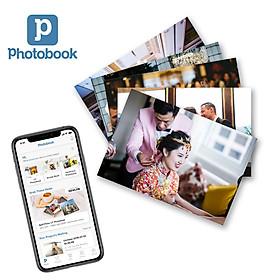 """Photobook - Voucher in 100 tấm ảnh 4"""" x 6"""" (10x15cm) theo yêu cầu"""