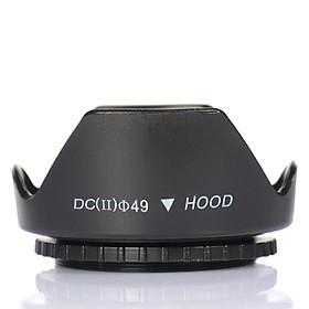 Lens hood Loa che nắng hoa sen vặn ren ống kính máy ảnh Phi 49mm
