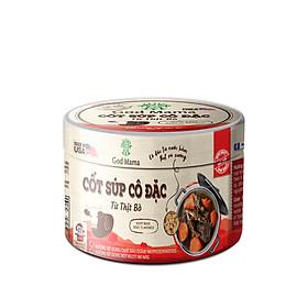 Cốt súp cô đặc - Từ thịt bò - Nấu nước dùng bò tiện lợi - Hũ 200gr - Tiêu chuẩn FDA, không bột ngọt, không chất bảo quản, tốt cho sức khỏe, sản phẩm bán chạy số 1 tại Mỹ