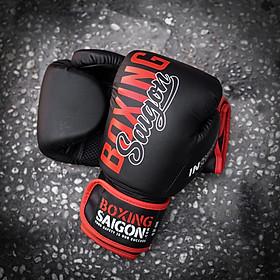 Găng tay Boxing Saigon Inspire - Black/Red