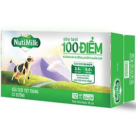 Biểu đồ lịch sử biến động giá bán Thùng 12 Hộp NutiMilk Sữa Tươi 100 Điểm - Sữa Tươi Tiệt Trùng Có Đường Hộp 1 Lít