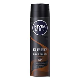 Xịt Ngăn Mùi Nivea Than Đen Hương Espresso - 85367 (150ml)
