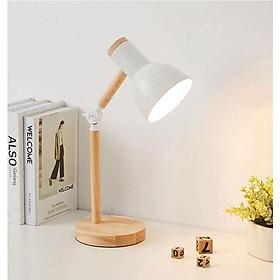 Đèn học, đèn để bàn làm việc Vintage DB09 tiết kiệm điện - Tặng kèm bóng LED ASIA chống cận
