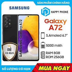 Điện Thoại Samsung Galaxy A72 (8GB/256GB) - ĐÃ KÍCH HOẠT BẢO HÀNH ĐIỆN TỬ - Hàng Chính Hãng
