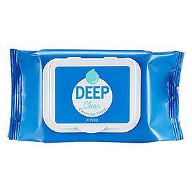 Khăn Giấy Tẩy Trang A'Pieu Deep Clean Cleansing Tissue 25 Sheets/170G