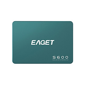 EAGET S600 SSD 2.5 inch SATA 3.0 512GB Solid State Drive High Speed Reading Writing SSD for Laptop Desktop Computer