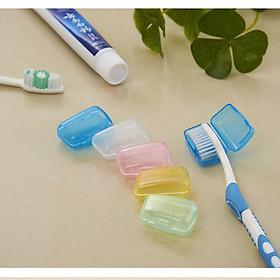 Combo 3 nắp đậy bàn chải đánh răng, hộp bọc đầu bảo vệ bàn chải mang đi du lịch siêu tiện lợi - GIAO MÀU NGẪU NHIÊN