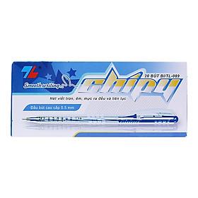 Hộp 20 Bút Bi Thiên Long TL-089 - Mực Xanh