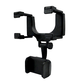 Universal Car Rearview Mirror Mount Stand Holder Cradle for Cell Phone GPS