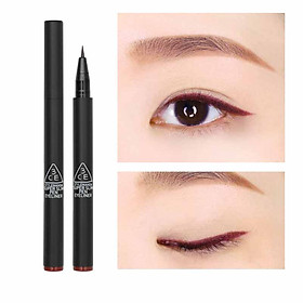 Kẻ Mắt Dạ 3CE Super Slim Pen Eye Liner #Burgundy Brown