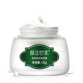 Membrane Facial Pearl Powder Mud Mask 135g (Whitening Brightening Moisturizing Oil Control)