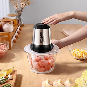 HYUNDAI Meat Grinder/Blender/Juicer/Wall Breaker 1.2L PY-790 10 Seconds of Minced Meat