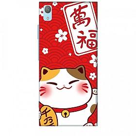 Ốp lưng dành cho điện thoại SONY XA1 PLUS Mèo Thần Tài Mẫu 2