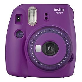 Máy Ảnh Selfie Lấy Liền Fujifilm Instax Mini 9 Clear Purple - Hàng Chính Hãng