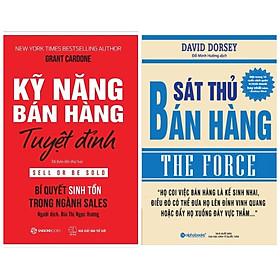 Combo 2 cuốn sách về kỹ năng bán hàng: Kỹ Năng Bán Hàng Tuyệt Đỉnh + Sát Thủ Bán Hàng