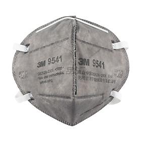 Combo 5 cái khẩu trang 3M 9541 than hoạt tính cao cấp , chính hãng , có van thở , kháng khuẩn , chống bụi siêu mịn PM2.5 , màu than , theo tiêu chuẩn : AS/NZS P2, EN 143:2000 - Hàng chính hãng cao cấp